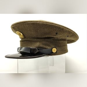 Vintage feldman cap co military authentic cap hat